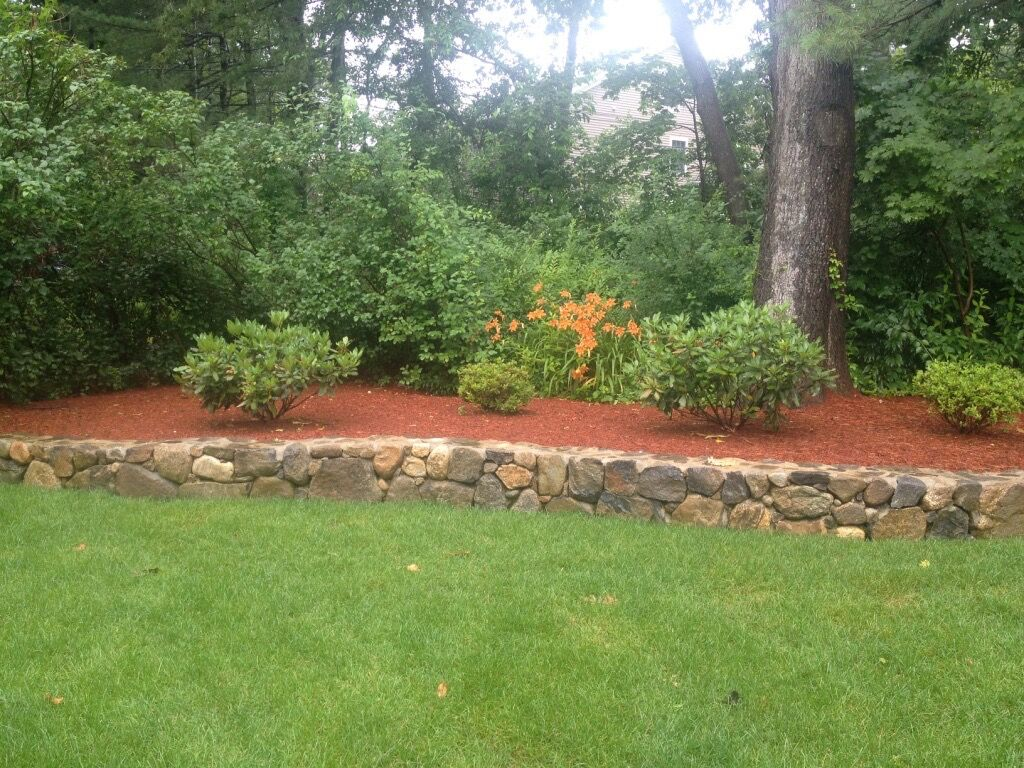 New England Field Stone Wall
